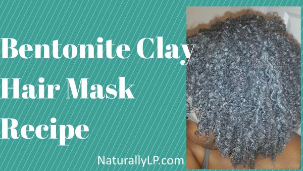 Bentonite Clay DIY Hair Mask